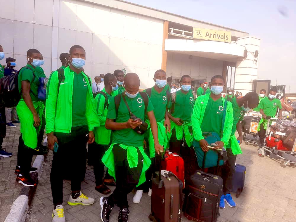 Golden Eaglets jets out to Togo for WAFU championship