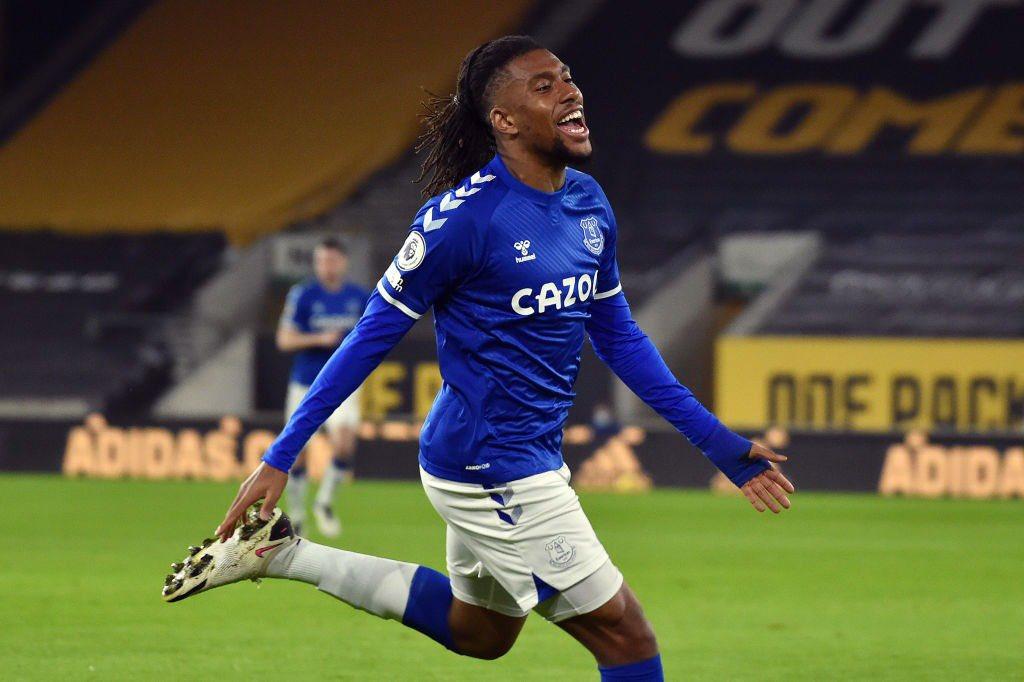 Iwobi ends 15-month Premier League goal drought for Everton