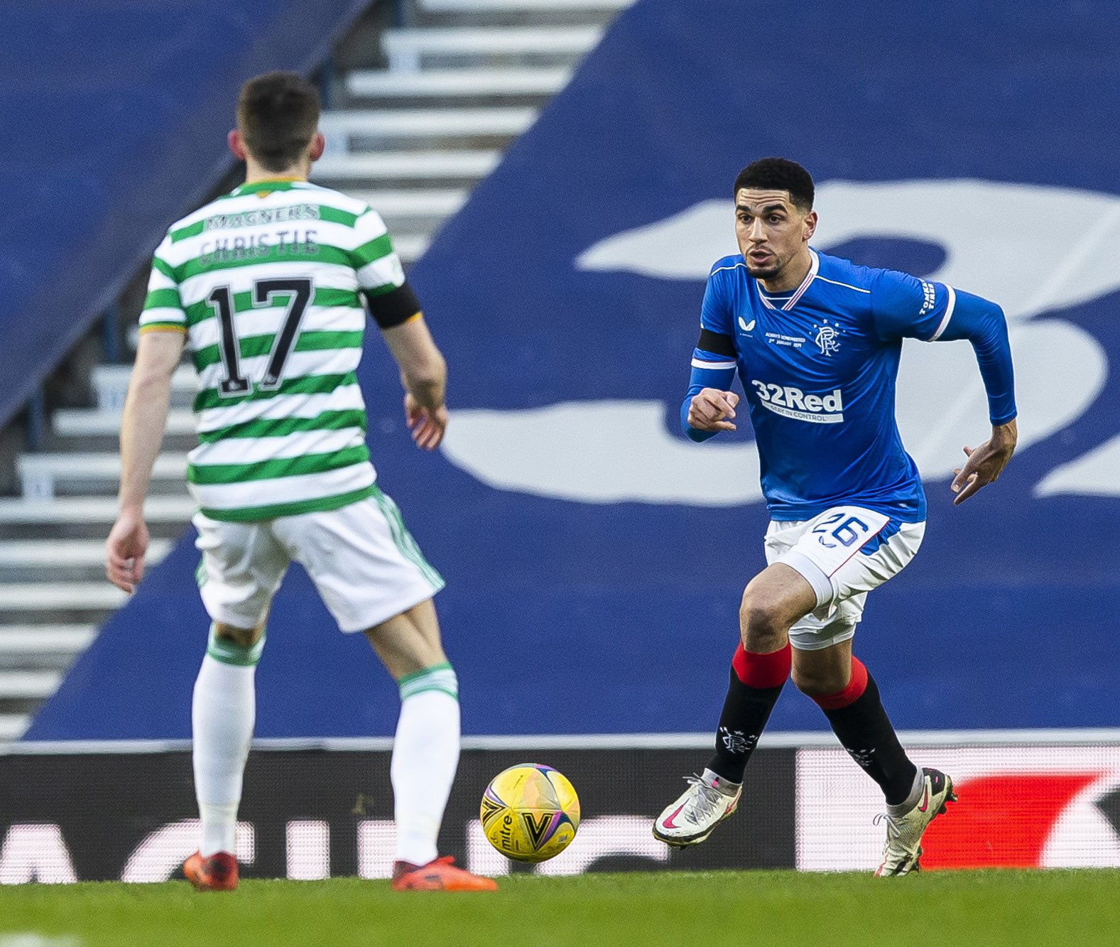 Balogun happy to start new year on a positive note with Rangers
