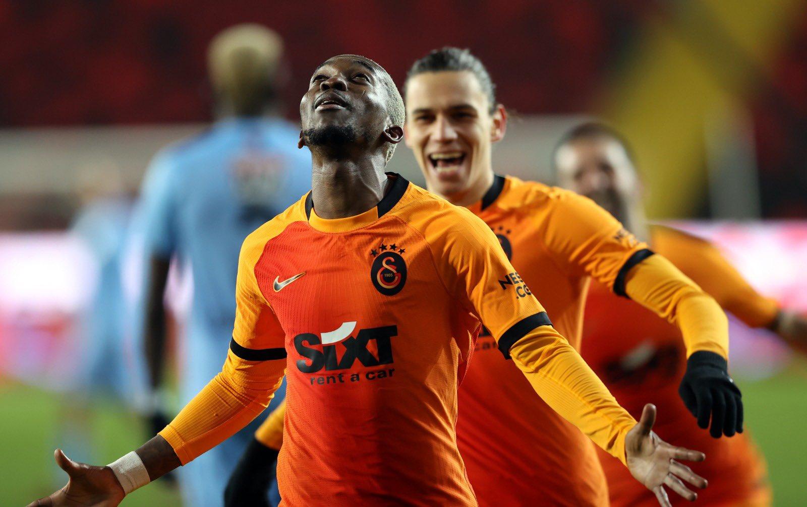 Onyekuru pleased with his brace for Galatasaray against Gaziantep