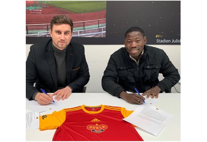 FK Dukla Praha's Jan Staněk reveals reason for signing Sunday Faleye