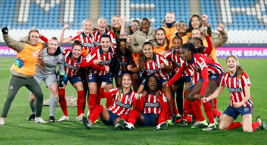 Rasheedat Ajibade delighted to reach first final with Atletico Madrid