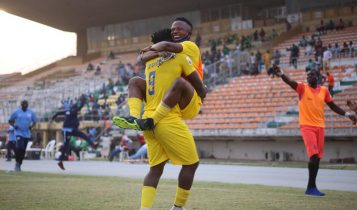Stone Samuel's brace condemned Abia Warriors to another league defeat