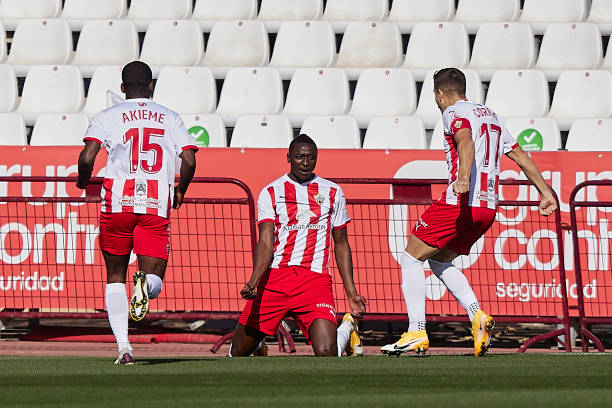 Sadiq Umar bags brace for Almeria in win over Alaves