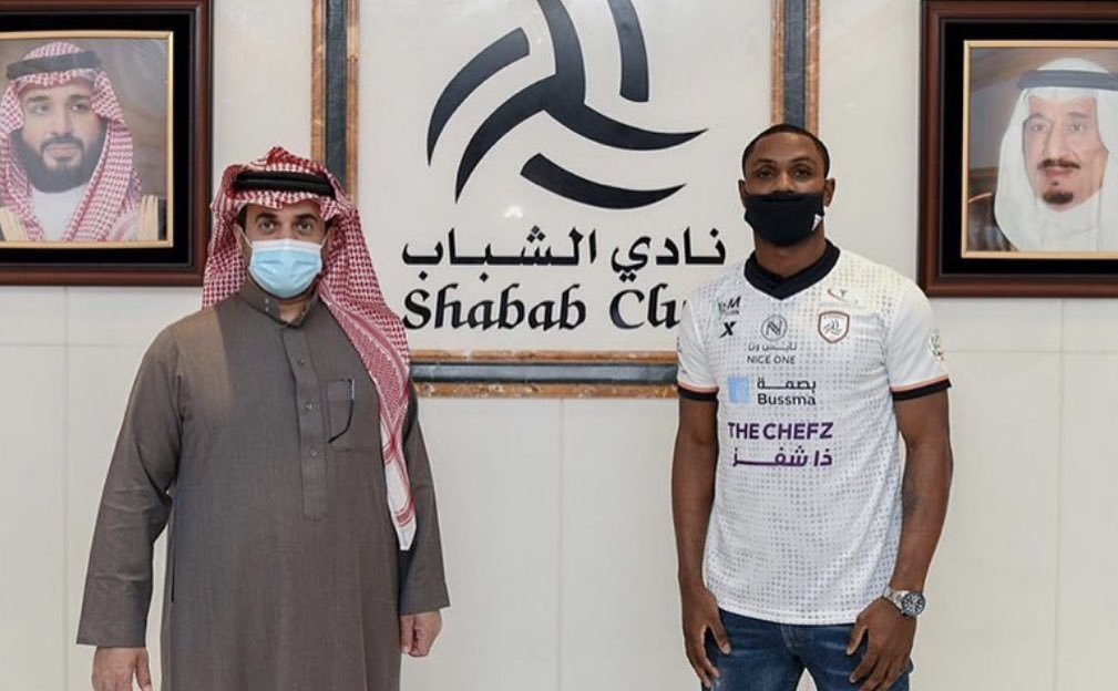Official – Ighalo joins Saudi Arabian side Al Shabab