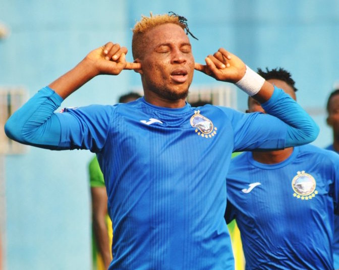 Enyimba Teammate 'Happy' with Tosin Omoyele's form