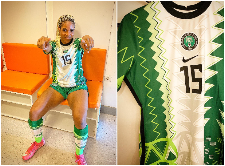 Patricia George relishes Super Falcons debut