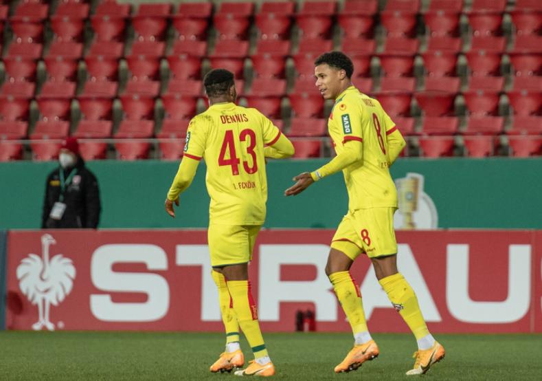 Dennis scores, misses penalty as Cologne suffer DFB Pokal Cup elimination