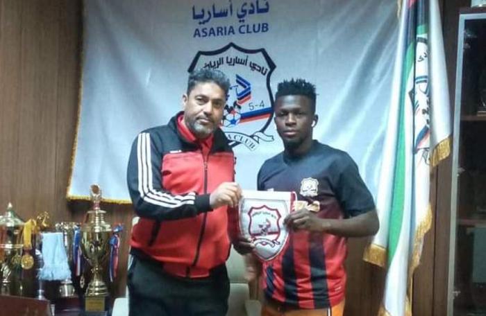 Super Eagles Forward Bature Yaro join Libyan club FC Asaria