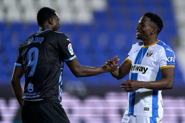 Umar Sadiq scores Again, but Omeruo grabs Winner for Leganes in Clash against UD Almeria
