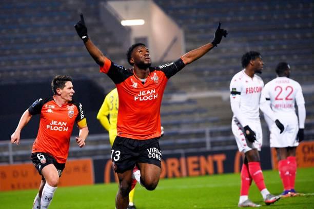 Injured Terem Moffi returns to Lorient training