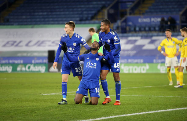Iheanacho's 94th minute Winner sends Leicester through to FA Cup Quarter-finals
