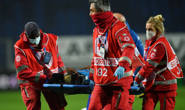 Osimhen to remain in hospital after sustaining head injury