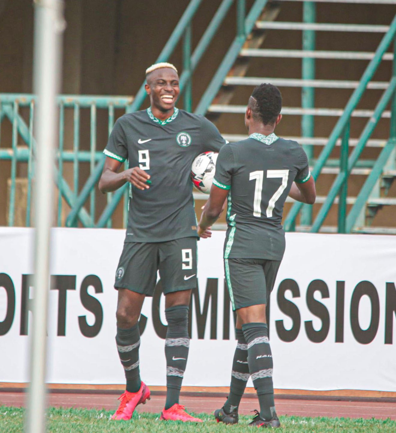 Osihmen excited with Super Eagles match wining display