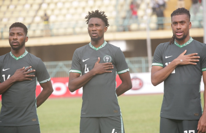 Ndidi celebrates as Super Eagles Wrap up AFCON Qualifiers Unbeaten