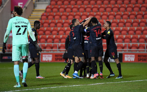Ekong, Success feature in Watford Win over Rotterham