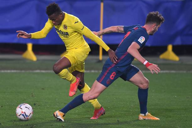 Chukwueze wins MOTM in first start for Villarreal after injury