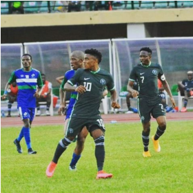 Anayo reveals why he wore the iconic number 10 jersey for Super Eagles debut