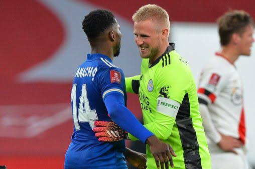 Iheanacho horrible to play against – Kasper Schmeichel