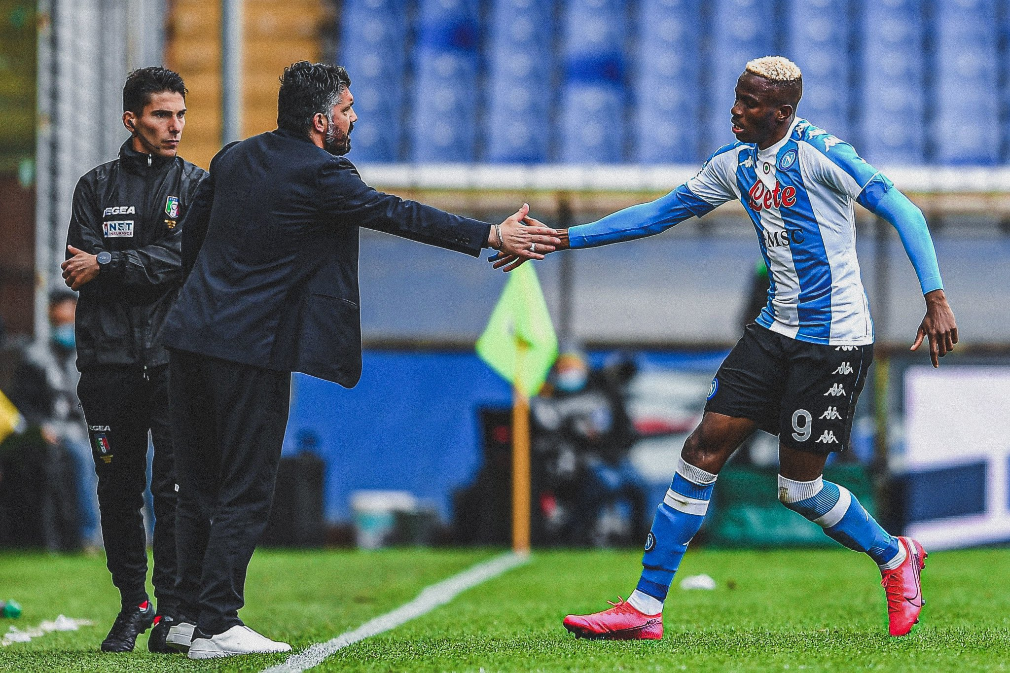 Osimhen leads Napoli to important victory against Sampdoria