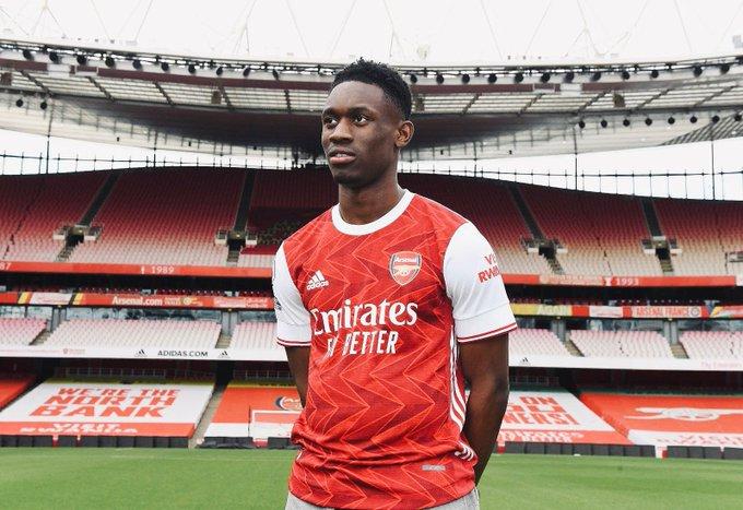 Folarin Balogun pens long term deal at Arsenal