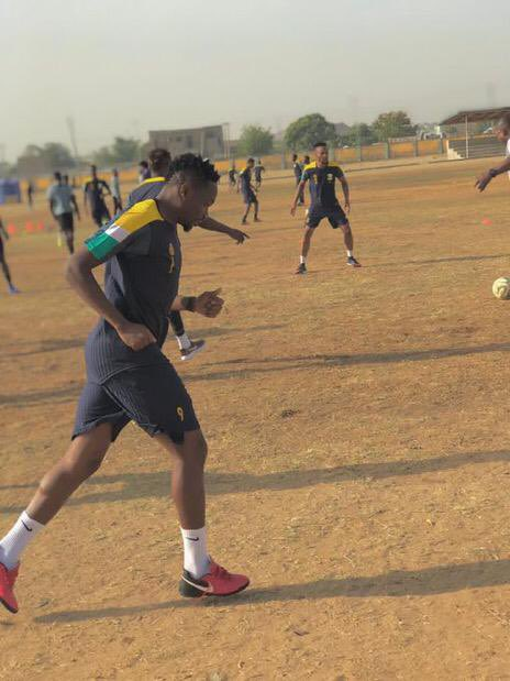 Kano Pillars players rates Musa's first day in training