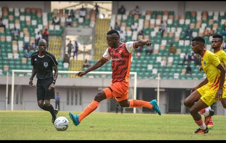 Enyimba completes the signing of Dakkada midfielder Christian Ekong