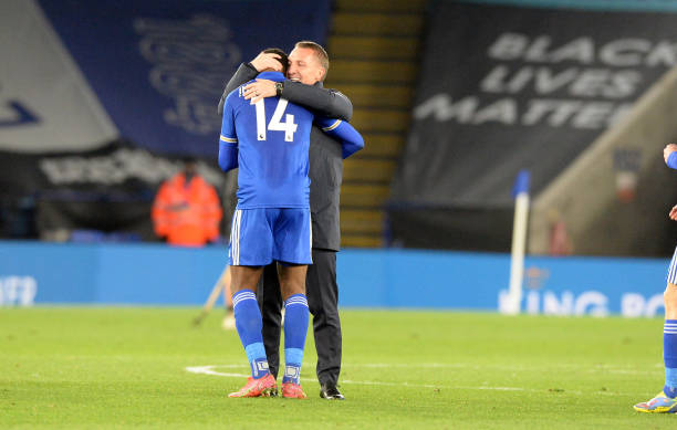 Iheanacho is running out of celebrations – Brendan Rodgers