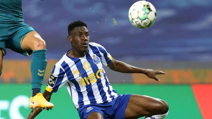 Porto left back Zaidu Sanusi braces up for Chelsea challenge