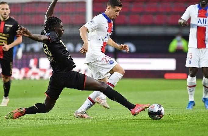 Ugochukwu Lesley makes professional bow for Rennes against PSG