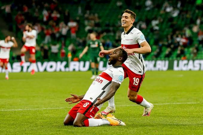 Moses delighted to win MOTM award in Russia