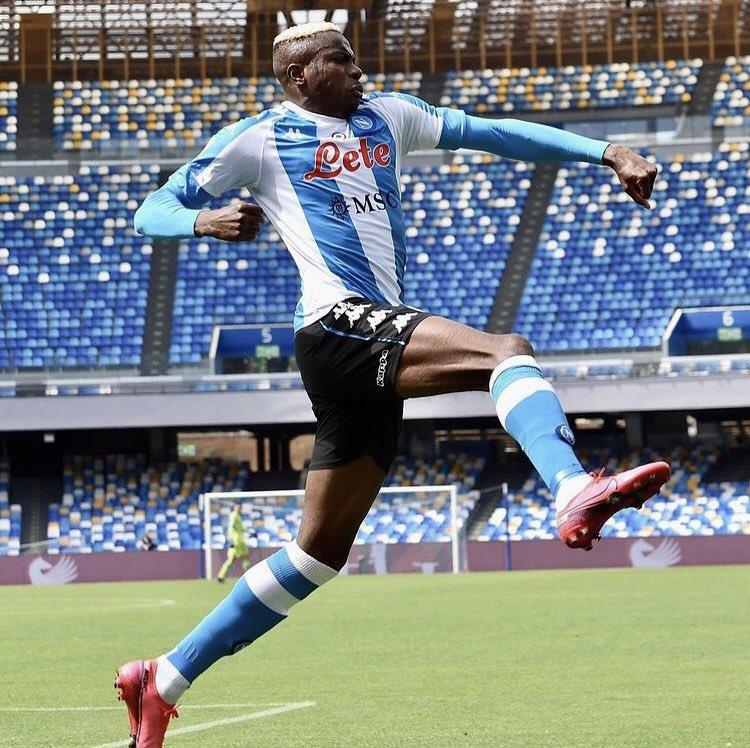 Osimhen nets eighth Serie A goal of the season