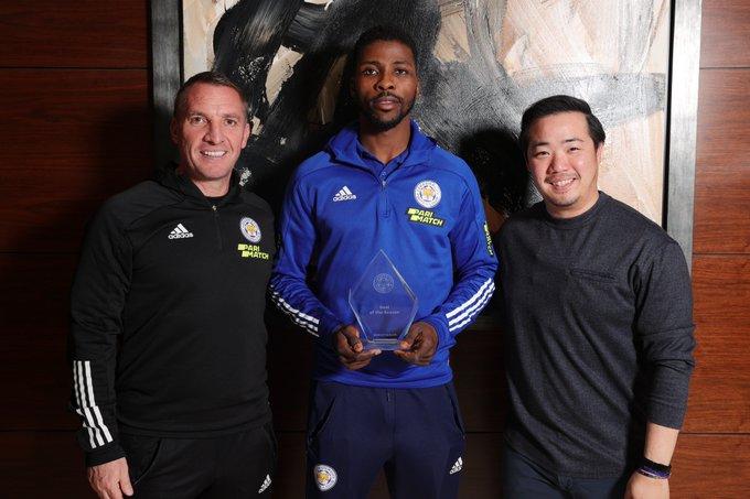 Kelechi Iheanacho wins Leicester City's goal of season award