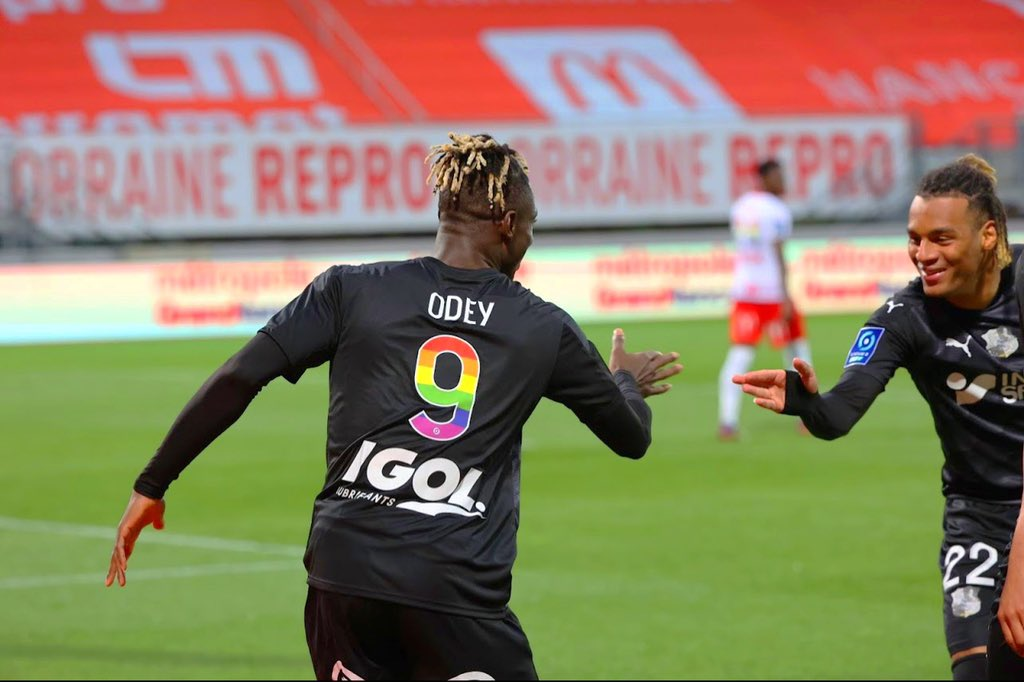 Odey delighted to end the season with a brace