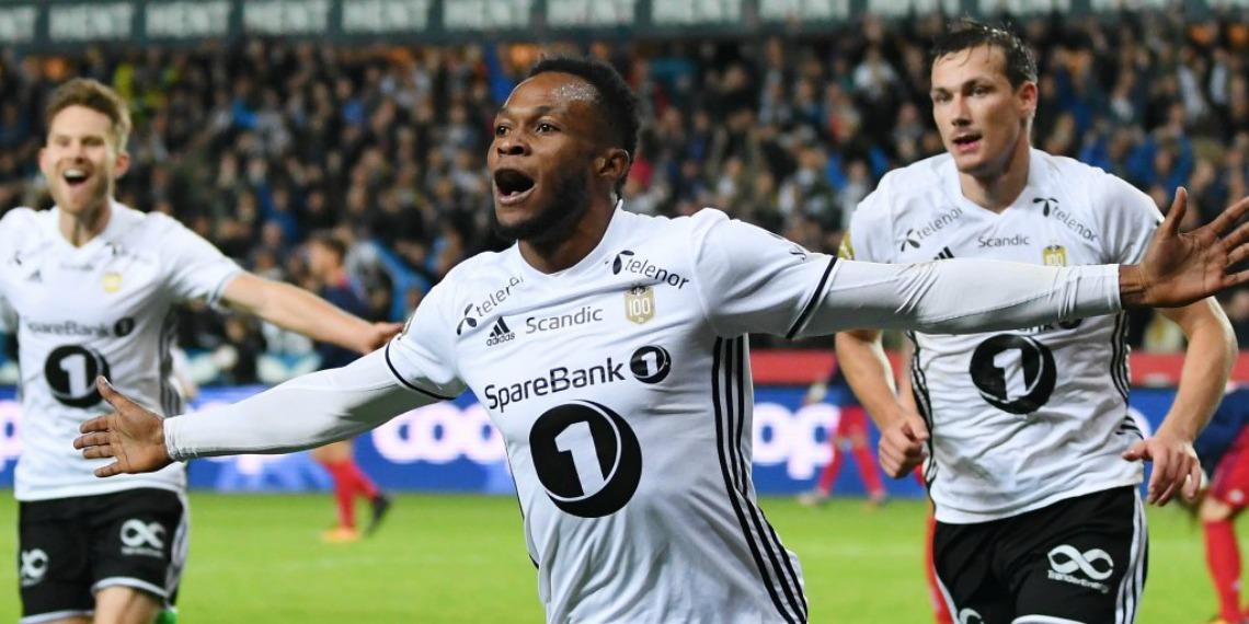 Samuel Adegbenro scores again in Sweden