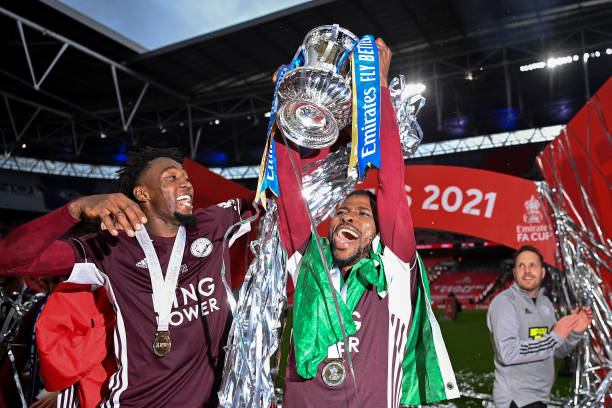 Ndidi, Iheanacho enter Leicester City's history book with FA Cup glory