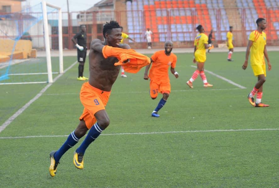 Sunshine Stars forward Sadeeq Yusuf 'glad' to end goal drought