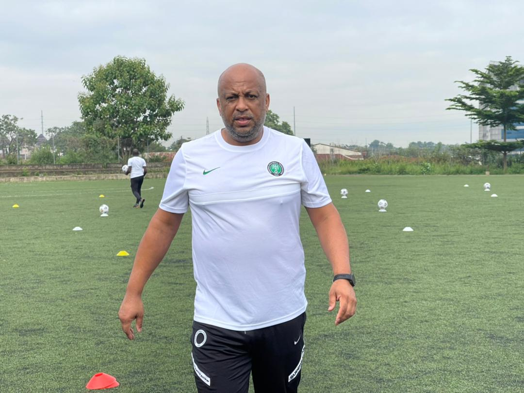 Home based Super Eagles players impresses Aigbogun in training