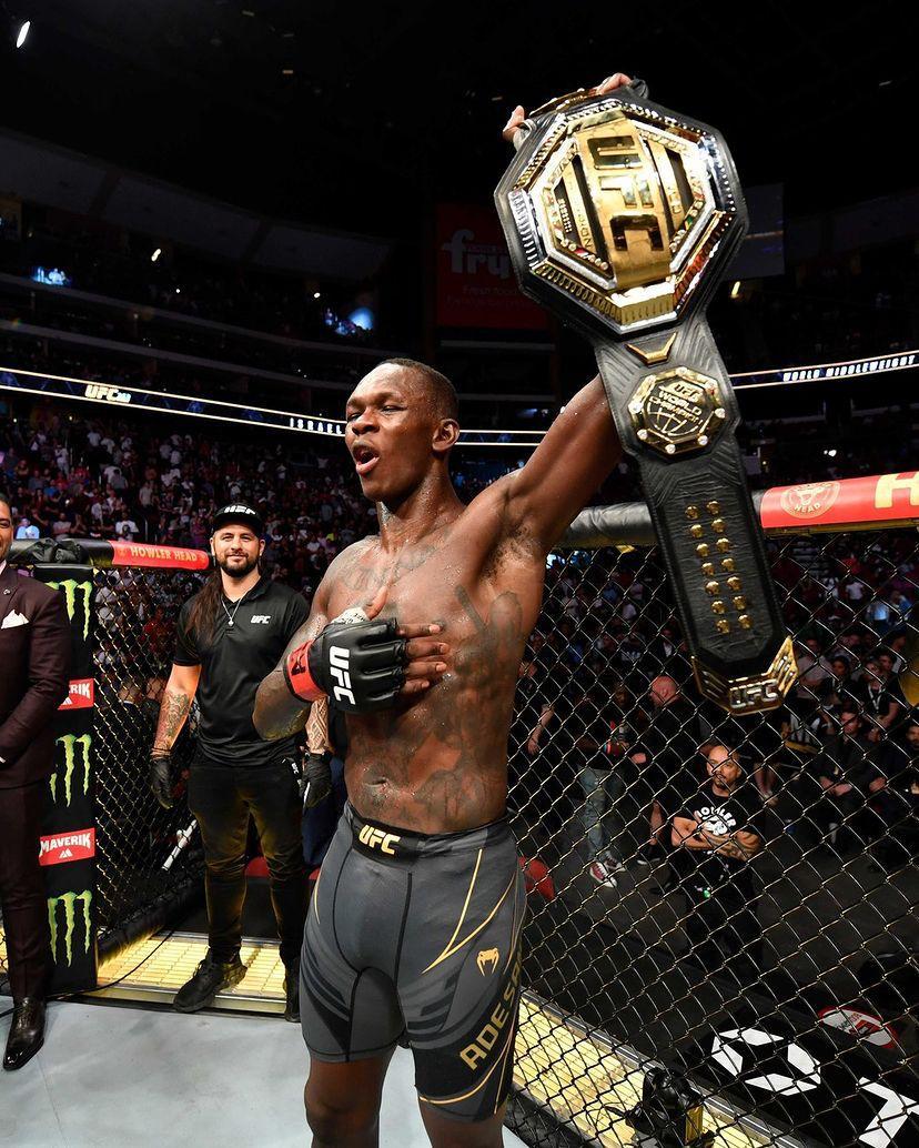 UFC 263: Isreal Adesanya retains title