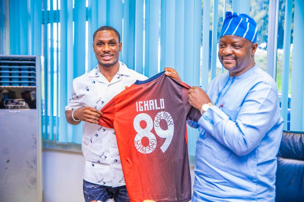 Ighalo named National Principal's Cup Ambassador