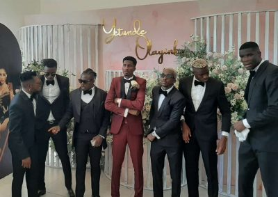 Super Eagles striker Olayinka marries Nollywood star Yetunde Barnabas