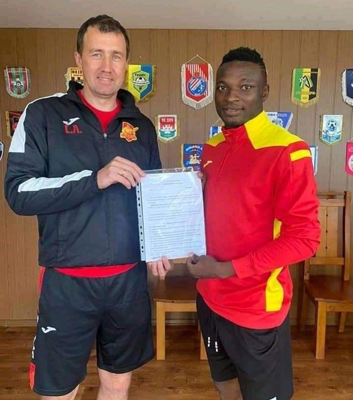 Wikki Tourists striker Stephen Gopey joins Ukrainian side FC Inhulets Petrove