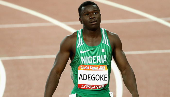 Adegoke delighted with new personal record
