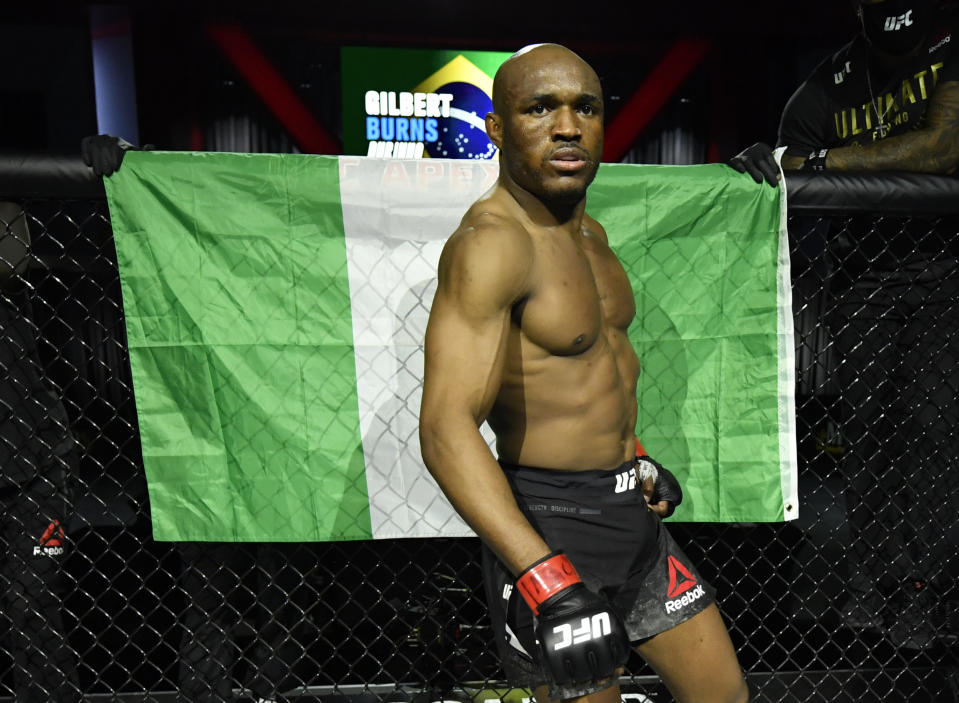 Kamaru Usman happy to visit Nigeria after 26 years