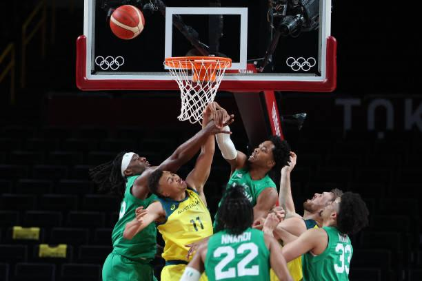 Men's Basketball: D'Tigers lose their first game at #Tokyo2020 a 19pts deficit to the World number 3