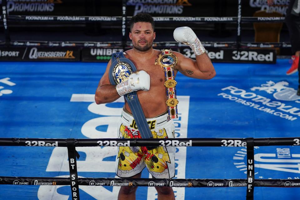 Nigerian boxer Joe Joyce wants to fight Joshua or Usyk after beating Takam