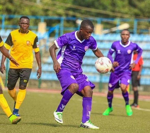 Elijah Akanni wants to score more goals for MFM