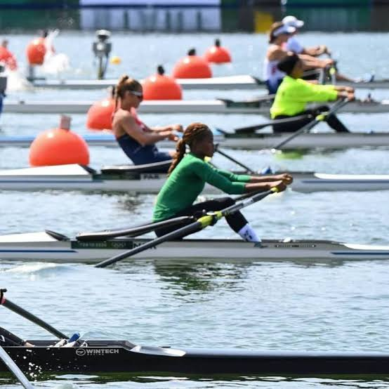 Tokyo Olympics: Nigeria's Esther Toko placed 5th in women's rowing event
