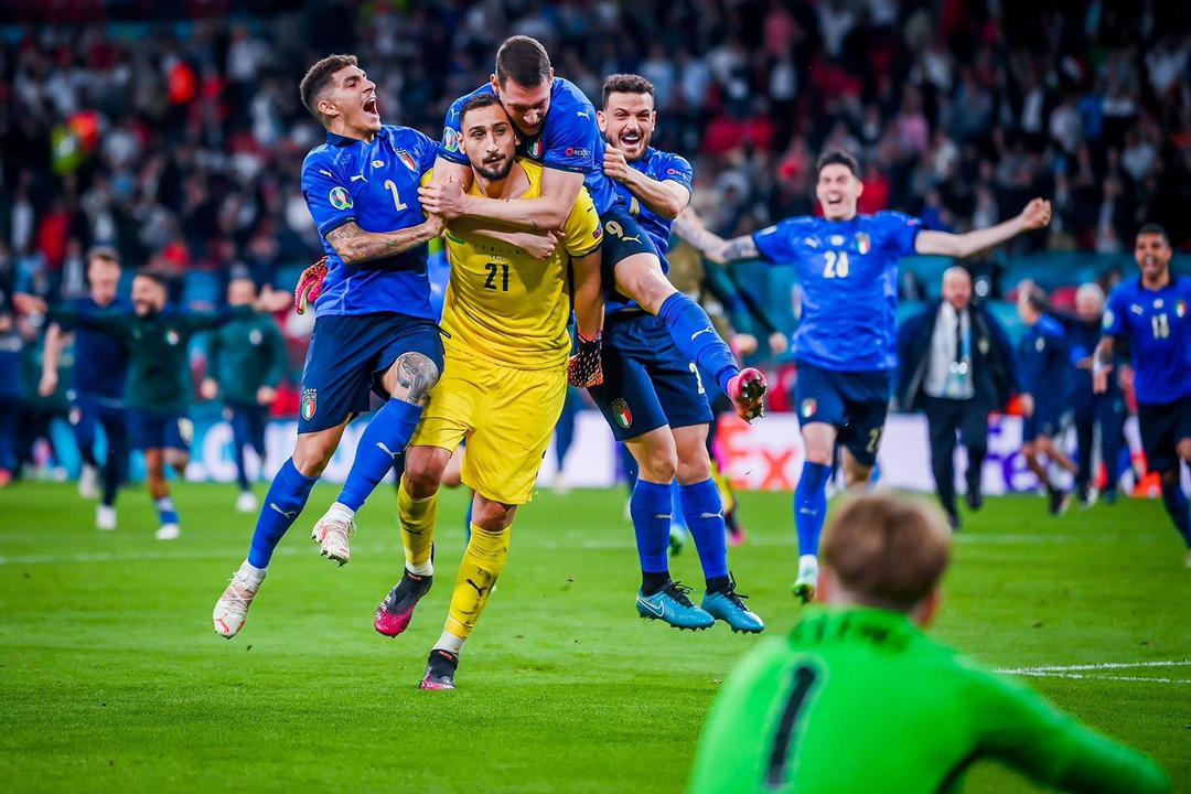 Italy Wins Euro 2020, Beats England's three lions in Penalty Shootout