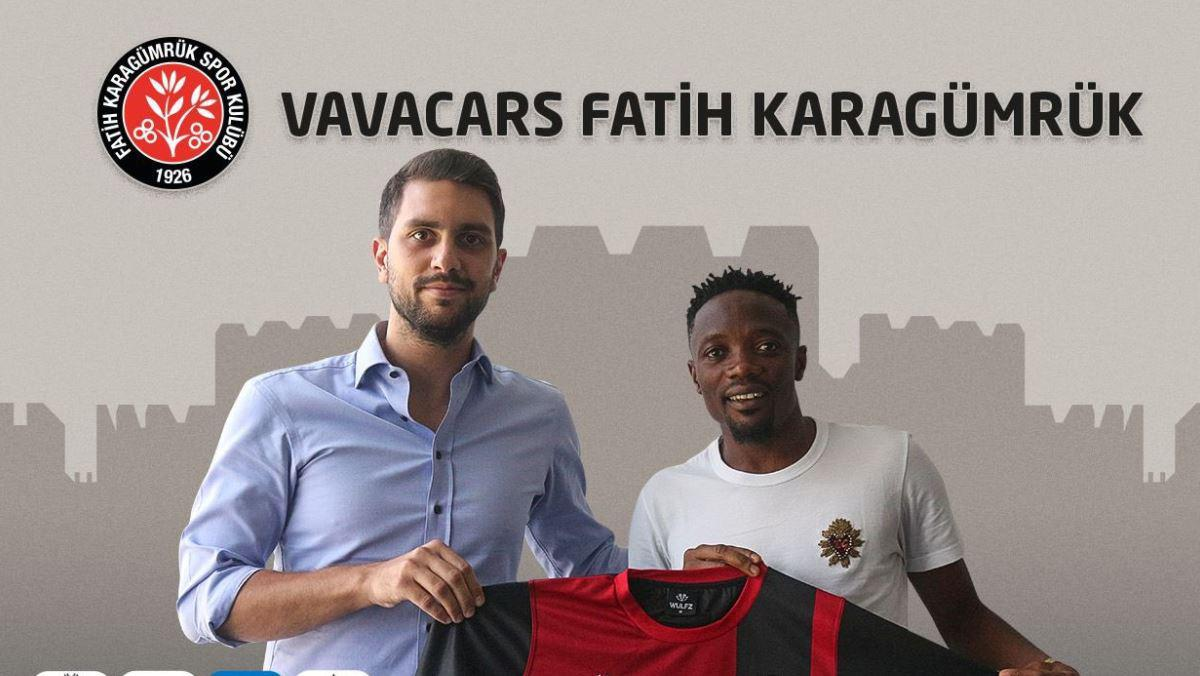 Turkish club Fatih Karagümrük unveils Ahmed Musa